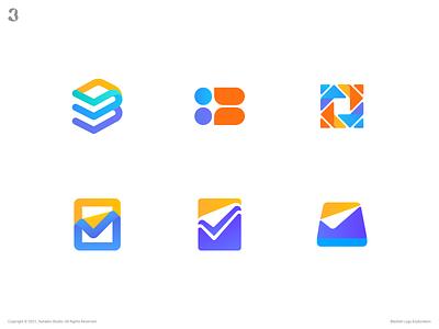 Blanket Logo Exploration maintenance assistant manager checkmark task branding app blanket logodesign design logo 3whales