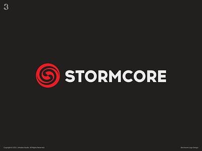 Stormcore Logo drive controller motor sletter logodesign design logo 3whales