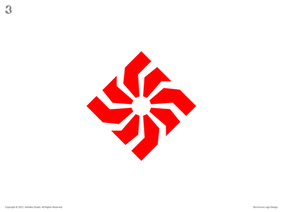 Stormcore Logo storm thunder control drive motor design logo 3whales