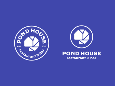 Pond House logo design