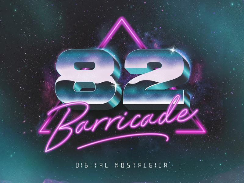 82 Barricade Album Artwork