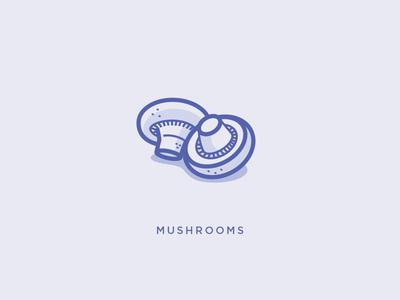 Mushrooms Icons