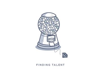 Finding Talent Illustration
