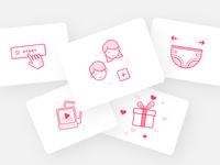 Diaper Registry Icons