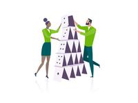 Teamwork – Event Illustration