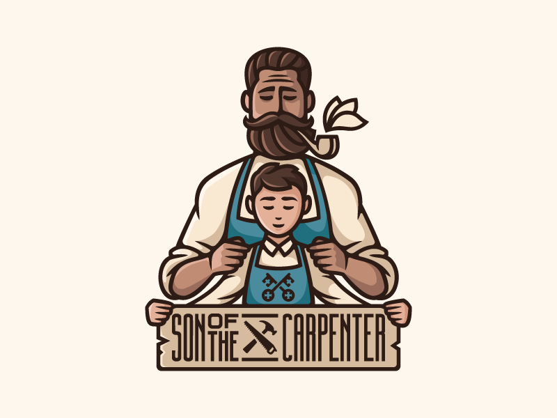 Son of the carpenter   dribbble