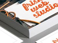 Frisk Web Studio Business Cards
