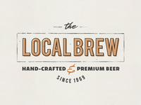 Local Brew Vintage Logo