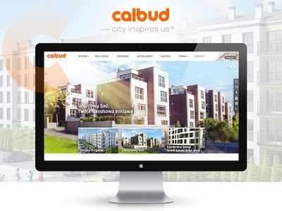 Calbud | Real Estate Company Layout company building apartments real estate