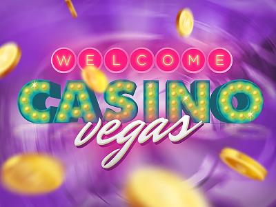 Mobile Casino App Promo Art preview advertising promo roulette chip app game vegas casino mobile