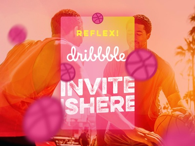 Reflex! Dribbble Invite Giveaway account draft free giveaway invite invitation dribbble