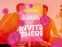 Reflex! Dribbble Invite Giveaway