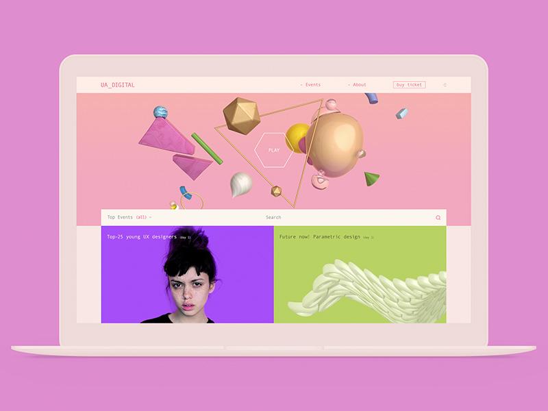 UA_DIGITAL grean case clean mocup girl color web