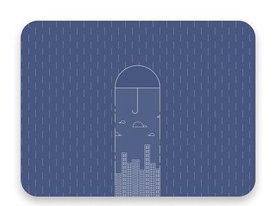 the Umbrella illustration vector design