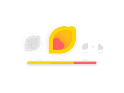 Lemon-Aid logo lemon-aid lemon branding logo graphic design icon vector illustration design