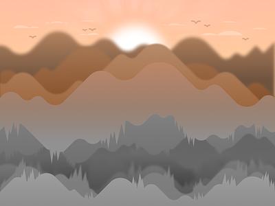 Desert Cave figma desert cave cave desert sand landscape graphic design illustration vector design