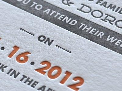 Dat letterpress letterpress futura deming