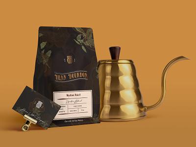 Coffee Packaging packaging illustration branding logo design