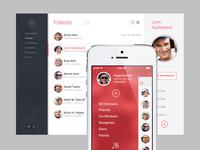 Web App + iOS7 App