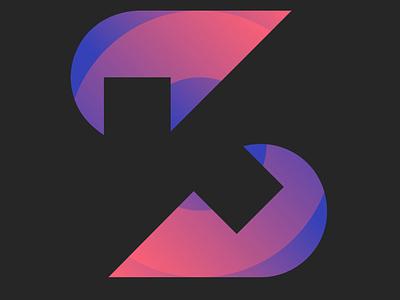 KS vector icon free forsale design branding logo ks monogram