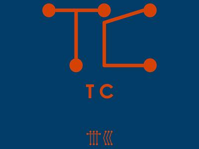 TC tc typography vector monogram logo icon free forsale design branding