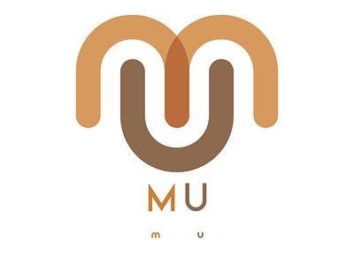 MU monogram icon free forsale branding vector logo design
