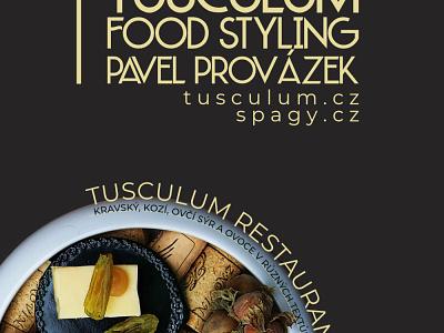 foodstyling pavel provázek poster marketing design