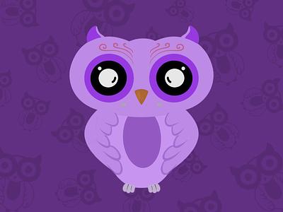 The Night Owl bird owl illustration