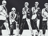 The Hives Band Illustration