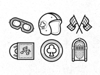 Cafe Racer Icons