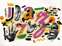 JAZZ Lettering