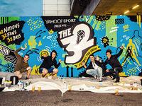Yahoo! Sport - The 32 Mural London Shoreditch