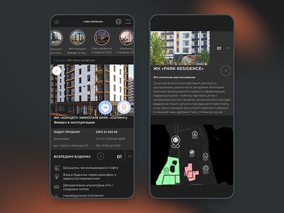 Responsive Design app mobile ux uiux apartment real estate agency rent home minimal uidesign webdesign website homepage product design trend property landing ui clean ecommerce