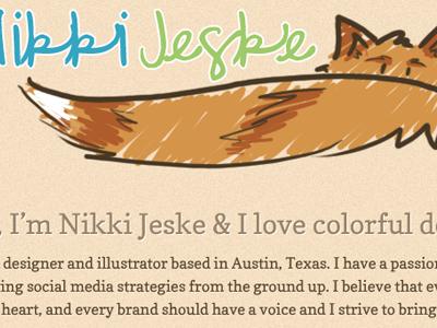 Coyote Tail illustration logo coyote portfolio nature