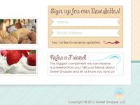 Sweet Shoppe Newsletter