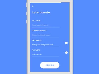 Change — Donate