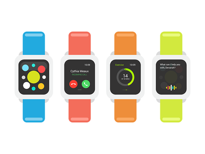 Apple Watch — Illustration