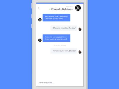 Shuffle — Conversations