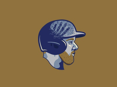 GordoNation Pine Tar Helmet helmet baseball royals kc gordonation gordo alex gordon