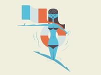 Fling Craft Cocktail  ::  Pool Girl