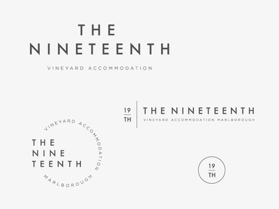 The Nineteenth brand suite