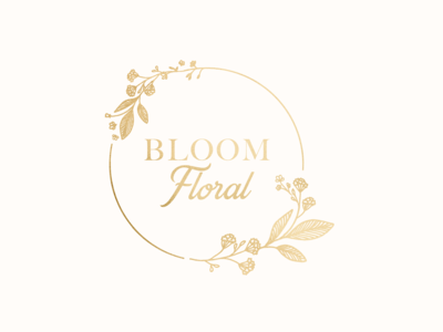 Bloom Floral logo