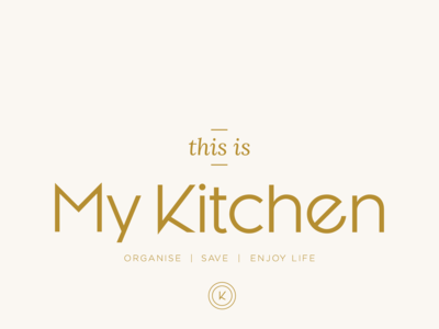 This Is My Kitchen final logo