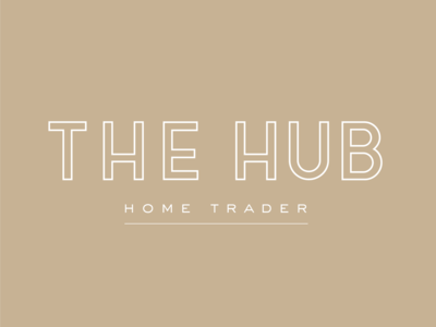 The Hub Home Trader final logo