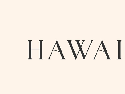 Hawaiki Kura Customised Lettering