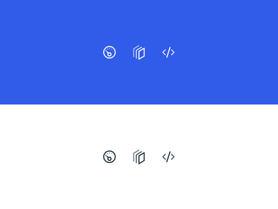 Navigation Icons - Hover Effect
