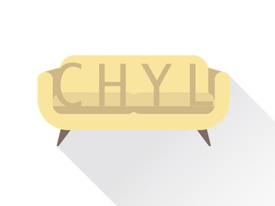 CHYL logo design application branding logo
