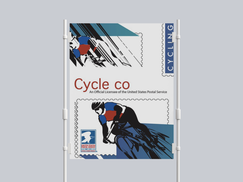 Cycle Co Poster design branding