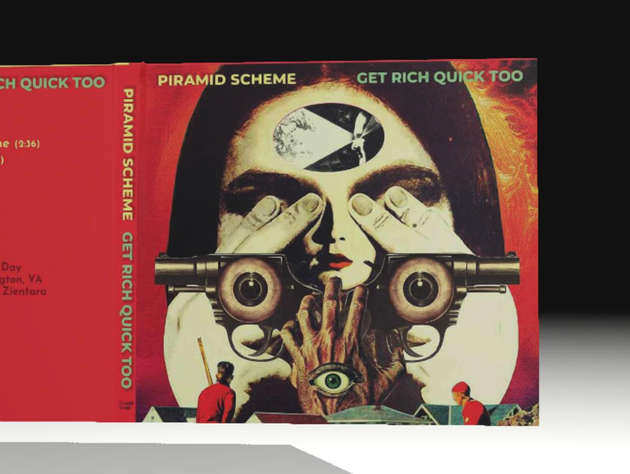 PIRAMID SCHEME digipak design digipak cddesign cd packaging graphicdesign design
