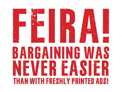 Feira Typeface typedesign print